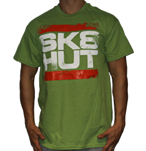 Skatehut Run Sk8hut T-Shirt - Kiwi