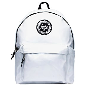 Hype Backpack - Holographic Polka White