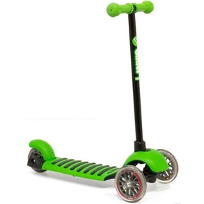 Y-Volution YGlider Deluxe Complete Scooter - Green/Black
