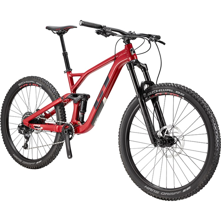 "GT 27.5"" M Force Al Comp Complete Mountain Bike - Red"