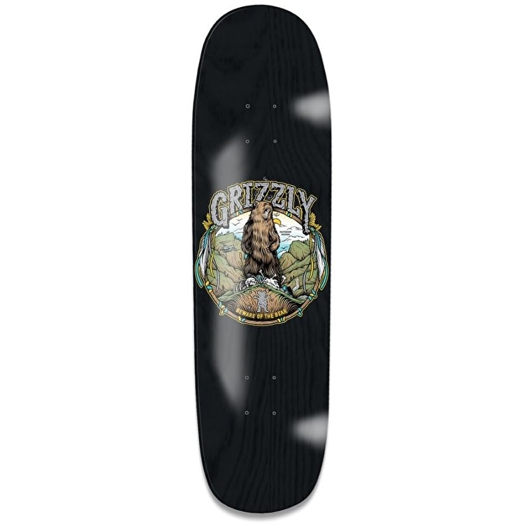 Grizzly King Of The Mountain Cruiser Deck - Black 8.5""