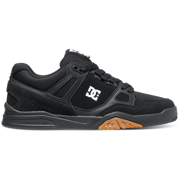 DC Stag 2 Shoes - Black/Gum UK 7 (B-Stock)
