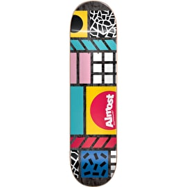 Almost New Wave HYB Skateboard Deck 8