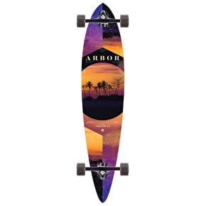 Arbor 2017 Photo Walnut Timeless Pintail Complete Longboard - 42