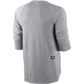 Nike SB Skyline Dri-FIT Cool 3/4 Crew - Dark Grey Heather