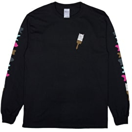 RIPNDIP Ross Long Sleeve T Shirt - Black
