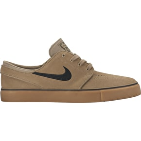 Nike SB Zoom Stefan Janoski Shoes - Khaki/Black