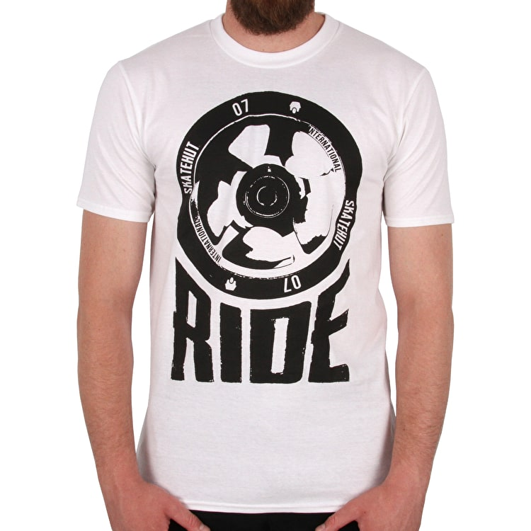 SkateHut Scooter Ride T-Shirt - White