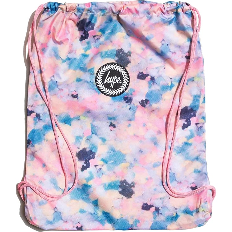 Hype Pastel Sponge Drawstring Bag - Multi