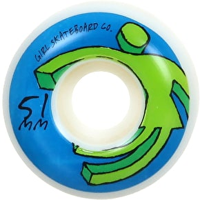 Girl Action OG 98A Skateboard Wheels - 51mm (Pack of 4)