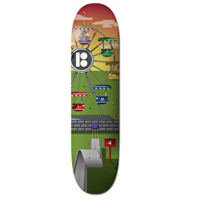 Plan B Skateboard Deck - Hole In One Carnival Pudwill 7.75