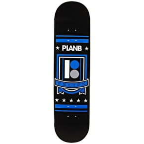 Plan B Black Ice Skateboard Deck - Felipe Shield 7.75