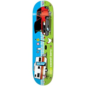 Enjoi Home Sweet Home Pro R7 Skateboard Deck - Berry 8.25