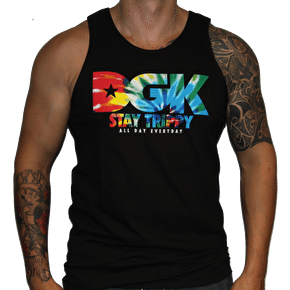 DGK Stay Trippy Tank Top - Black