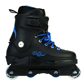 Razors Cult Street Aggressive Skates - Black / Blue