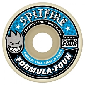 Spitfire Formula Four Conical 99a Skateboard Wheels - 54mm