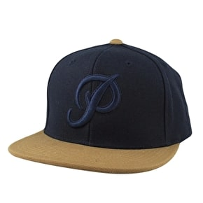 Primitive Classic P Canvas Cap - Navy