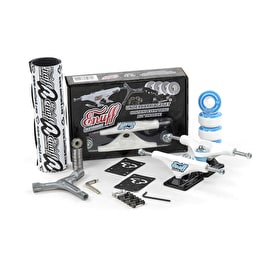 Enuff Decade Pro Skateboard Undercarriage Set - White/Black