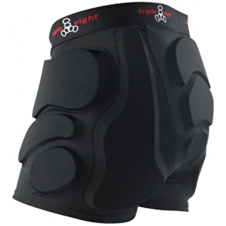 Triple 8 Roller Derby Bumsavers - Black