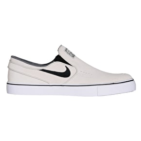 Nike SB Zoom Stefan Janoski Slip Skate Shoes - Light Bone/Black