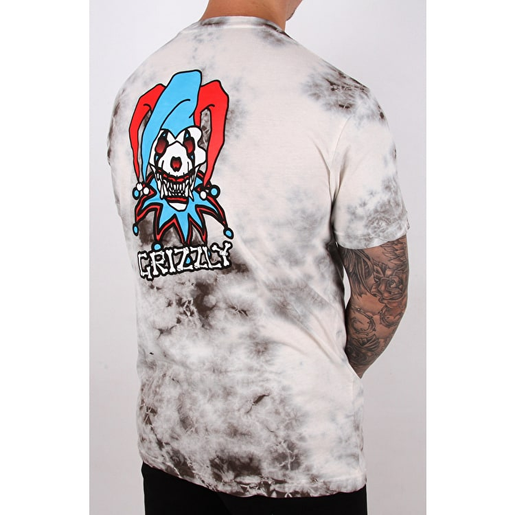 Grizzly Jester T shirt - Tie Dye