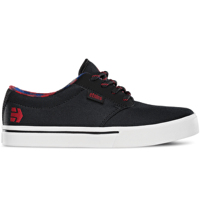 Etnies Kids' Jameson 2 Eco Shoes - Black/Red