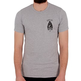 Grind Zombie Lights Out T-Shirt - Heather Grey
