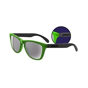 Oakley Frogskins Sunglasses - Blacklight Green/Black/Grey