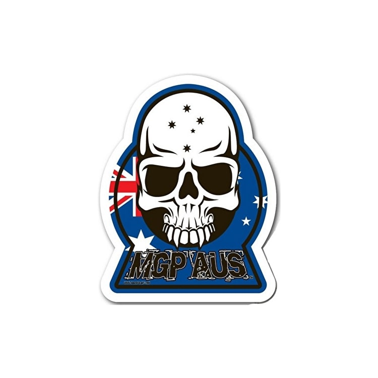 MGP World Tour Skull Sticker - AUS