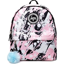 Hype Pink Brushed Backpack - Multi