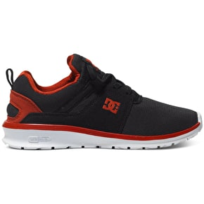 DC Heathrow Shoes - Black/Red