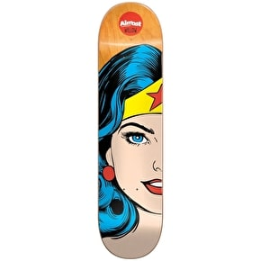 Almost Skateboard Deck - Wonder Woman Split Face R7 Willow 7.75