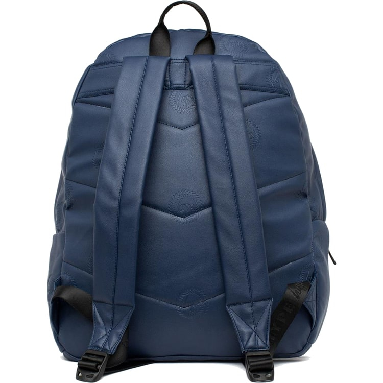 Hype Embossed Crest Backpack - Navy