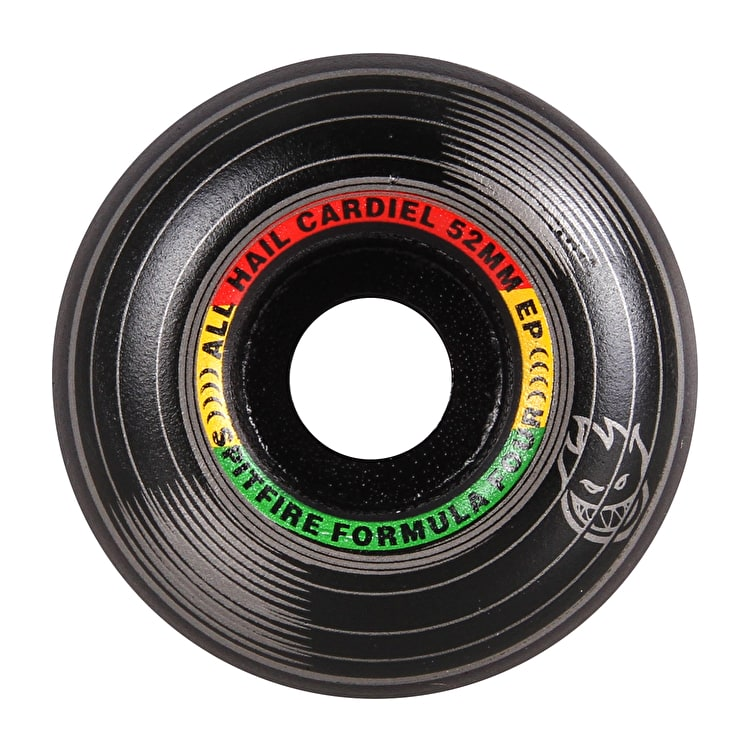 Spitfire Formula Four Cardiel Juan Love 99D Skateboard Wheels (Pack of 4)