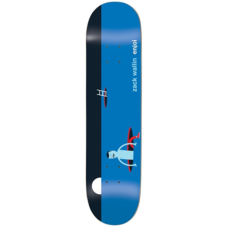 Enjoi x Jim Houser Skateboard Deck - R7 Wallin 8.125""