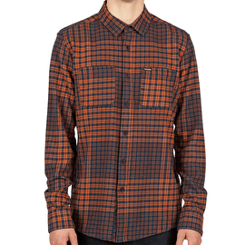 Volcom Bolden Long Sleeve Shirt - Papaya