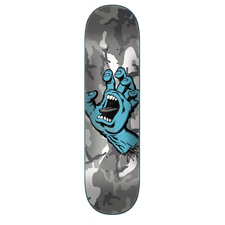 Santa Cruz Screaming Hand Camo Skateboard Deck - 8.5""