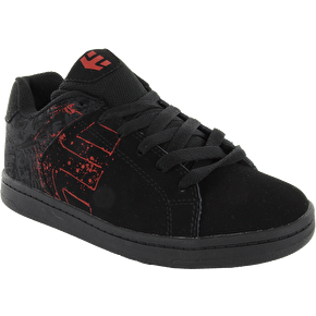 Etnies Wraith Kids Shoes - Black/Red/Grey