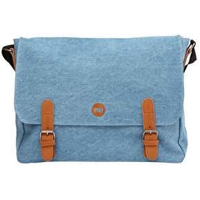 Mi-Pac Messenger Bag - Denim Stonewash