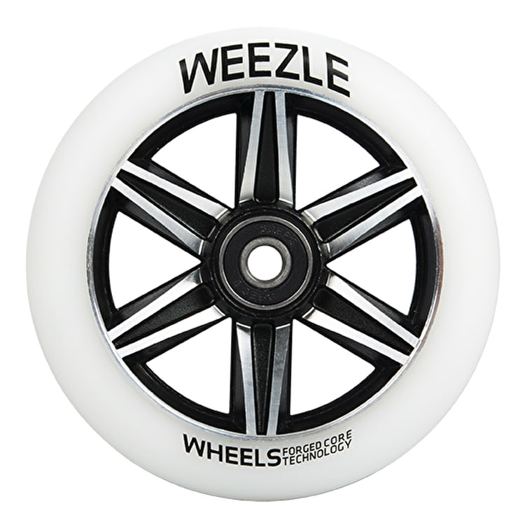 Chilli Pro Weezle 110mm Scooter Wheel w/Bearings - White/Silver
