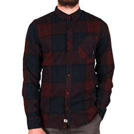 Element Buffalo Longsleeve Shirt - Napa Red