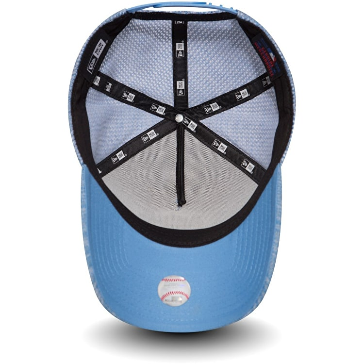 New Era Boston Red Sox Engineered Fit A Frame Cap - Sky Blue/Optic White