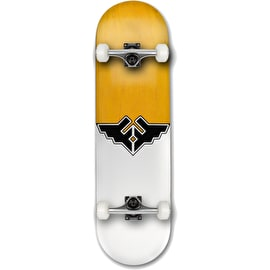 Fracture Wings V1 Complete Skateboard - Yellow 8