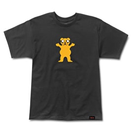 Grizzly Adventure Time Homies Help Homies T-Shirt - Black
