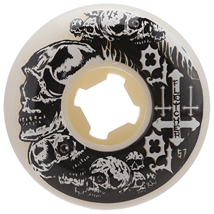 OJ Fletcher Helllfire 101a Skateboard Wheels - 57mm