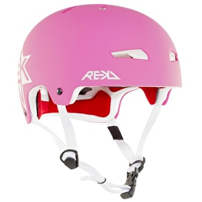 REKD Elite Icon Helmet - Pink/White