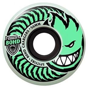 Spitfire 80HD Chargers Stay Lit Glow Skateboard Wheels - 56mm