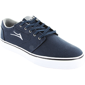 Lakai Fura Navy Canvas Skate Shoes - Navy Canvas