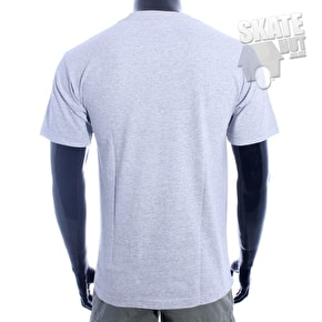 DGK Head Cracks T-Shirt - Grey Heather