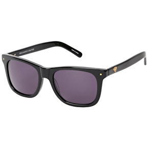 Diamond Vermont Polarised Sunglasses - Black/Gold